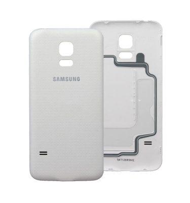 Samsung Galaxy S5 galinis dangtelis baltas