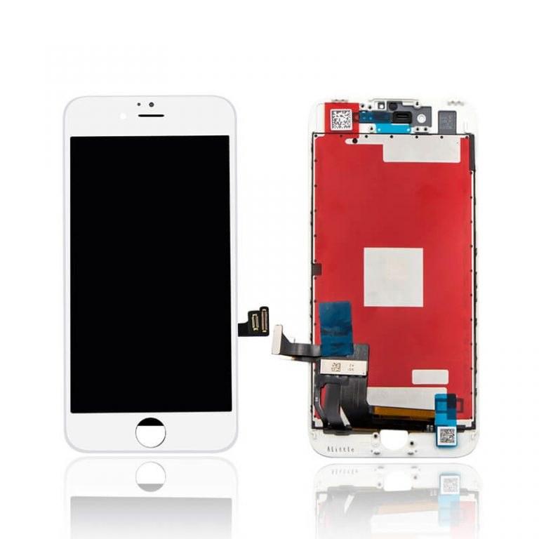 iphone 7 ekranas baltas